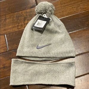 NWT NIKE hat and headband set